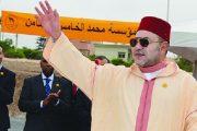 القنيطرة.. الملك محمد السادس يعطي انطلاقة إنجاز مشاريع تضامنية