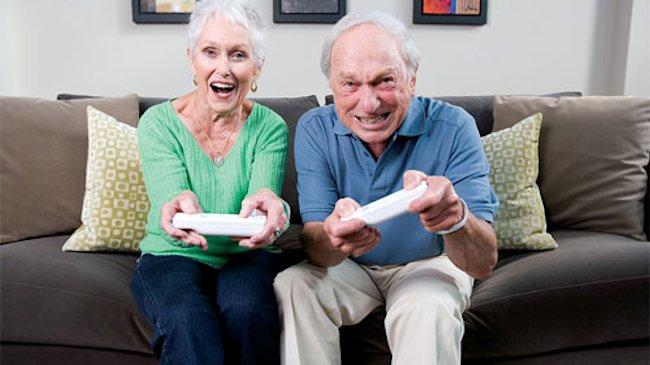 ألعاب الفيديو مفيدة للصحة العقلية لكبار السن