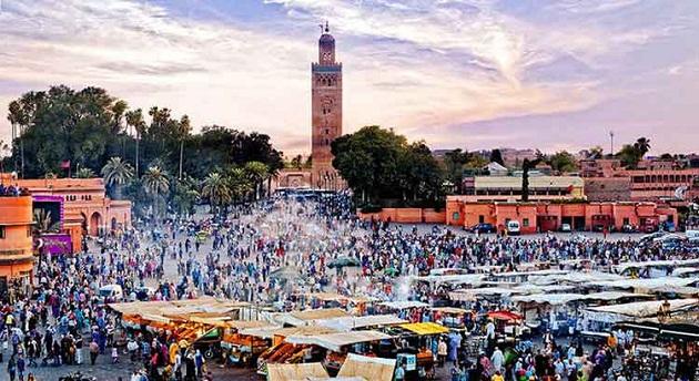 ارتفاع عدد سياح المغرب بنسبة 9 في المائة خلال سنة 2017