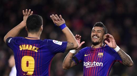 برشلونة يعزز صدارته في الليغا
