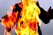 بالصور.. سيدة تهدد بحرق نفسها ببنسليمان بسبب السكن