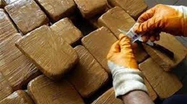 حجز 3900 كلغ من الشيرا بحوزة تاجر مخدرات بمراكش