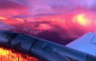 فيديو مدهش للطيران فوق عاصفة برقية