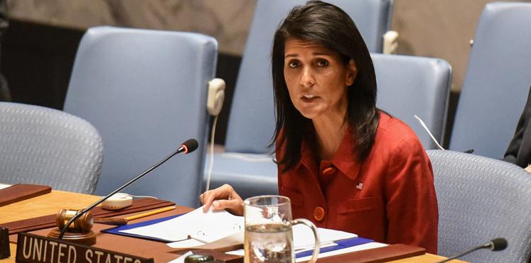 الولايات المتحدة تستخدم الفيتو لإسقاط قرار مجلس الأمن بشأن القدس