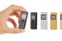 بحجم لا يتعدى 5 سنتمتر.. اطلاق أصغر هاتف في العالم بسعر منخفض!