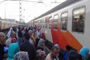 مسنة تاهت داخل قطار عن ابنتها وتخلف استياء المسافرين