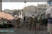 بالفيديو.. قتلى وجرحى في حادث سقوط سور بحي بيلفيدير بالدارالبيضاء