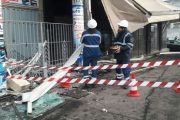 ''مدينة بيس'': الانزلاق تسبب في حادثة اصطدام حافلة بمقهى
