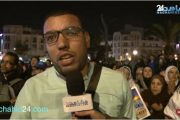 بالفيديو.. وقفة احتجاجية في البيضاء ضد قرار ترامب