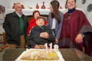 آخر جندي إسباني في حرب الريف يحتفل بعيد ميلاده 113