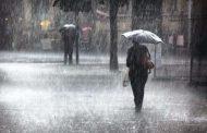 نشرة إنذارية.. أمطار قوية ورياح مرتقبة غدا الإثنين في العديد من مناطق المملكة