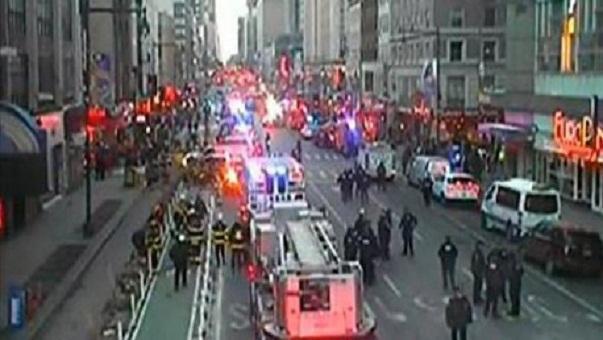 انفجار في مانهاتن وسط نيويورك والقبض على مشتبه به
