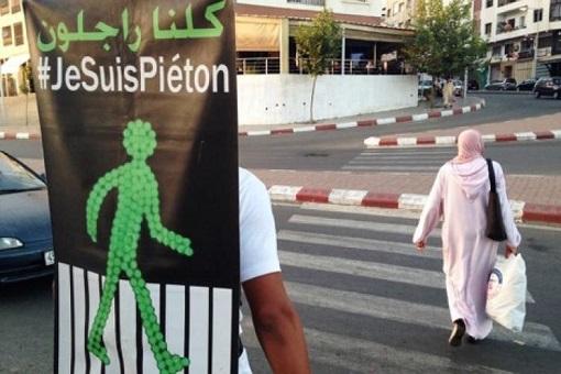 مغاربة يردون بالسخرية على غرامة 25 درهم الخاصة بالراجلين