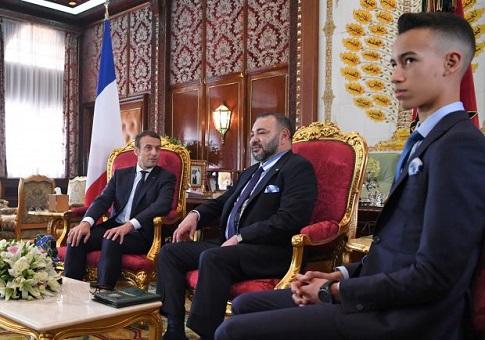 باريس.. إشادة عالية بمشاركة الملك وولي العهد في قمة المناخ الدولية