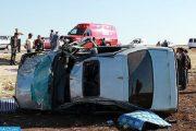مصرع شخصين وإصابة 5 آخرين في حادثة سير ضواحي تيفلت