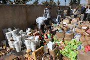 إتلاف 345 طن من المنتجات الغذائية الفاسدة في شهر واحد
