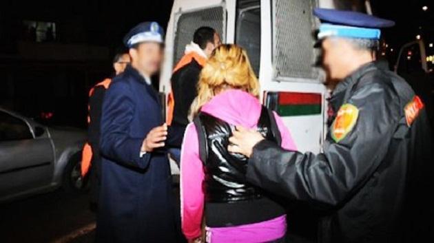 اعتقال متزعمة عصابة مختصة في السرقة وشريكا لها بفاس