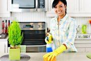 طرق بسيطة للحصول على مطبخ نظيف في أقل وقت