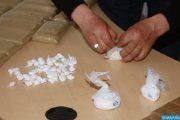 تفريغ كيلوغراما و395 غراما من الكوكايين من أمعاء نيجيري