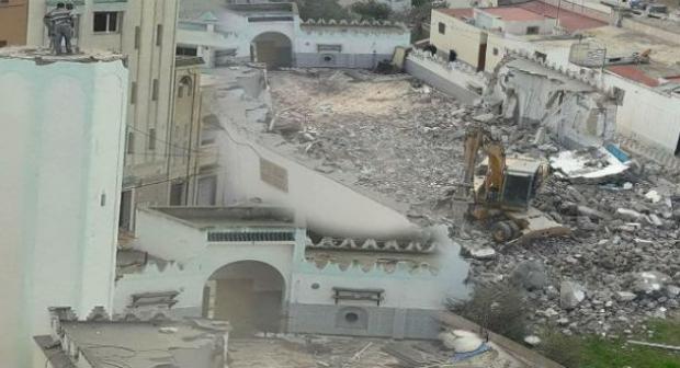 عمالة إقليم الحسيمة تشرح أسباب هدم المسجد الذي