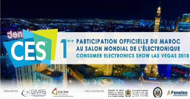 9 ابتكارات للمغرب بالمعرض الدولي للإلكترونيك بلاس فيغاس