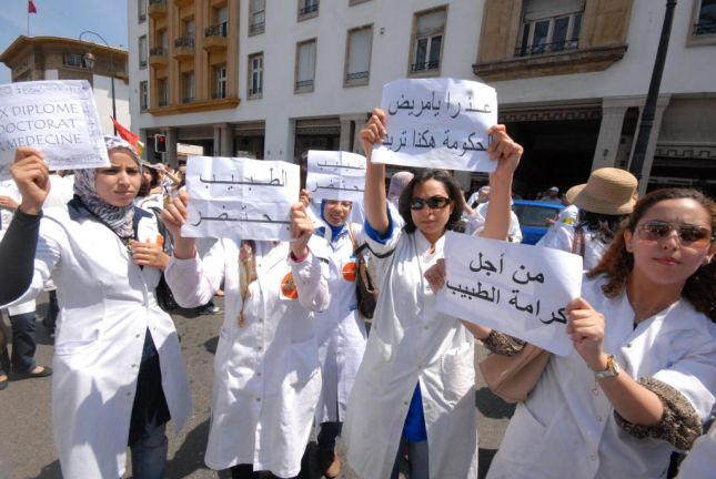 وزارة الصحة في ''ورطة''.. رقعة احتجاجات الأطباء تتسع