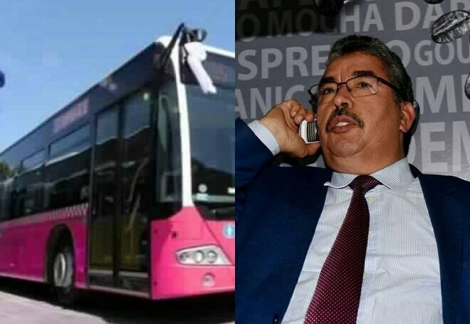 بعد الضجة التي أثارتها.. عمدة الرباط يكشف أن الحافلات الوردية ''حلم''