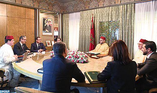 الملك محمد السادس يترأس بالبيضاء اجتماعا لتتبع برامج الطاقات المتجددة