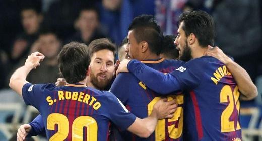 برشلونة يؤكد قوته بميدان ريال سوسييداد