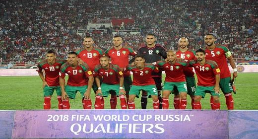 المنتخب المغربي يرتقي مركزا واحدا في تصنيف الفيفا