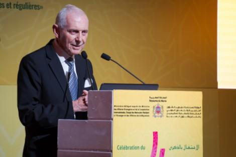 المدير العام لمنظمة الهجرة الدولية يشيد بسياسة الهجرة في المغرب