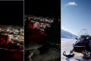 أزيلال.. دراجة الثلج عوض المروحية لنقل مريضة إلى المستشفى