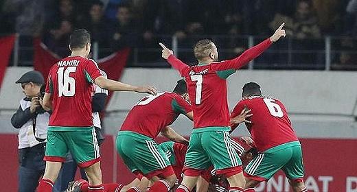 المنتخب المغربي في نهائي الشان 2018