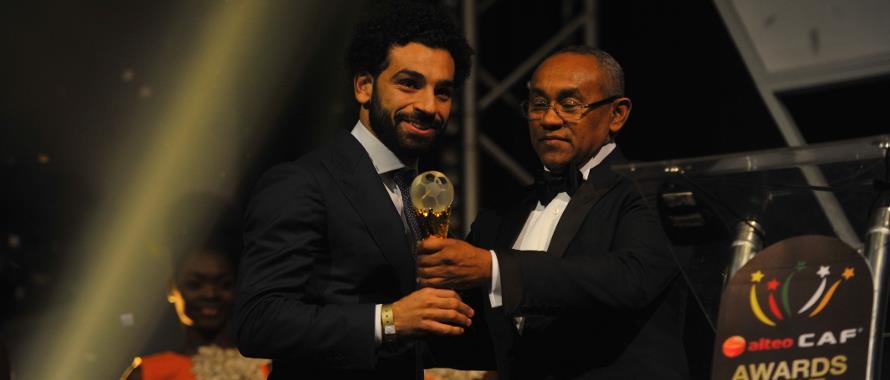 محمد صلاح أفضل لاعب في إفريقيا