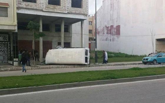 لصوص يهاجمون عاملات أصبن في حادثة سير بطنجة