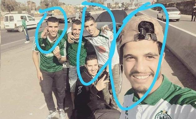 مصرع 4 شبان من جمهور الرجاء البيضاوي احترقت سيارتهم في الطريق إلى مراكش