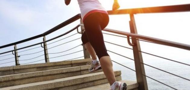 هل تعلم أن صعود و نزول الدرج مفيد للصحة ؟!!!