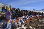 بتعليمات ملكية.. استفادت الآلاف من المساعدات للتخفيف من تداعيات موجة البرد