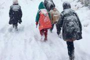 البرد والثلوج يعلقان الدراسة بأزيد من 600 مؤسسة تعليمية