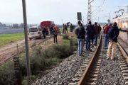 القطار يقتل مرة أخرى قرب محطة سطات المدينة