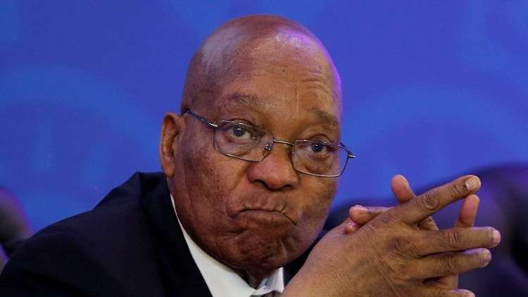 رسميا.. زوما يعلن استقالته من رئاسة جنوب إفريقيا