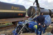مقتل 6 أشخاص وإصابة 14 آخرين إثر اصطدام قطار بسيارة قرب طنجة