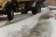 موظف بوزارة التجهيز يفارق الحياة بعد حادثة سير وسط الثلوج