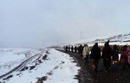 بعد تحديد مواقعهم.. تدابير استعجالية لإنقاذ الرحل العالقين وسط الثلوج