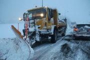 بعد إزاحة الثلوج.. فتح حركة السير بجميع المحاور الطرقية