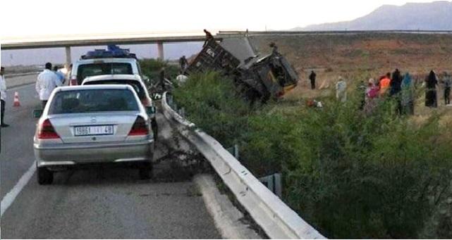 قتيل وإصابات خطيرة في حادثة سير على الطريق السيار البيضاء - الجديدة