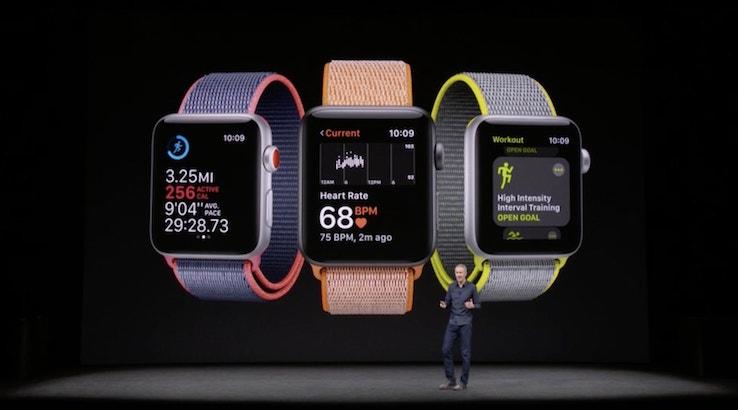 """بالصور.. تعرف على مميزات ساعة آبل الجديدة """" Apple Watch Series 3 """""""