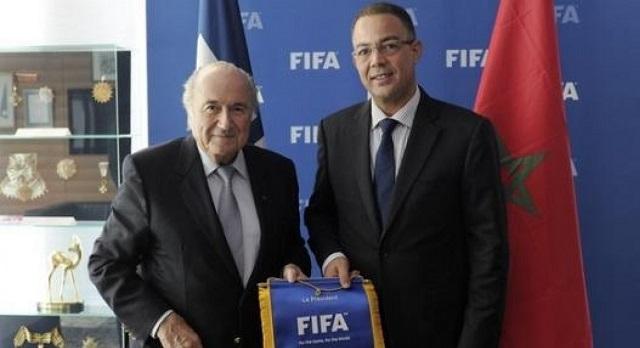 بلاتر يدعم المغرب لتنظيم كأس العالم 2026
