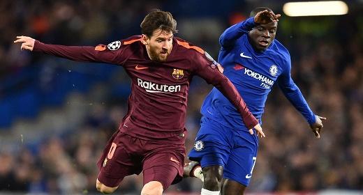 ميسي يجنب برشلونة الهزيمة بلندن