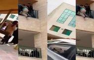 بالفيديو.. طالبة تحاول الانتحار بسبب فصلها من الجامعة